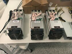 3x BitMain Antminer S9 for sale with 2x Bitmain APW3++ power supply