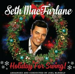 Seth MacFarlane Holiday for Swing New CD $15.79