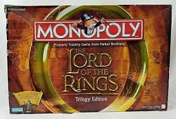 Monopoly Lord of the Rings complete board game please read description