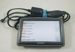 "TomTom XXL GPS Portable Navigator with 5"" Screen w car charger"