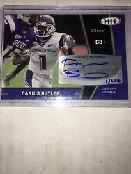 2009 SAGE HIT DARIUS BUTLER Limited Edition Autograph Rookie Card 1100 Patriots