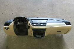 2012-2015 BMW X1 Dash Panel wo nav wo Harman Kardon audio blacktan OEM 2013
