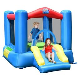 Kids Inflatable Jumping Castle Air Blower Outdoor Bouncer