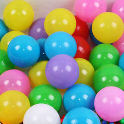 100pcs 7cm Fun Soft Plastic Ocean Ball Swim Pit Toys Baby Kids Toys Colorful