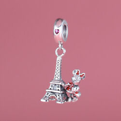Pandora  Disneyland Paris Exclusive   Minnie Mouse Eiffel Tower Charm