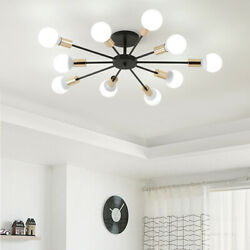 Atomic Sputnik Starburst Light Fixture Chandelier Ceiling Lamp Lighting Modern $38.98