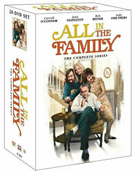 All in the Family The Complete Series 1-9 DVD 28 discs +40 page collectible book