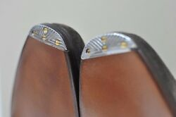 Flush Metal Toe Taps for Proper Quality Mens Dress Shoes Made in France tap $13.00