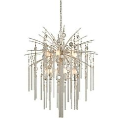 Corbett Bliss 12 + 1 Light Pendant in Topaz Leaf - 162-713