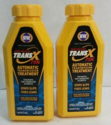(2) Trans-X® High Mileage Automatic Transmission Treatment 16Oz  No.402916