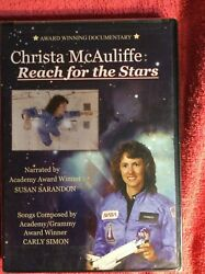 BRAND NEW CHRISTA MCAULIFFE REACH FOR THE STARS DVD SEALED IN PLASTIC EDUCATION $6.40