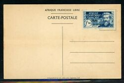 French Equatorial Africa LIBRE OVPT MNG Selections: Scott #132 1.50F on Card $$$