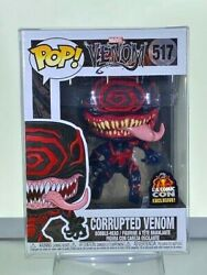 FUNKO POP! CORRUPTED VENOM #517 - 2019 LACC EXCLUSIVE MINT WITH POP PROTECTOR