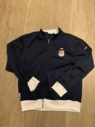 2010 FIFA World Cup Jacket South Africa USA Blue Size Large