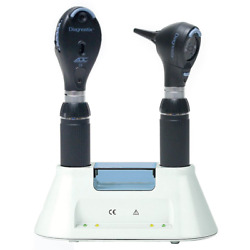 ADC Diagnostic Desk Set Standard Otoscope and Coax Ophthalmoscope Xenon Lamps