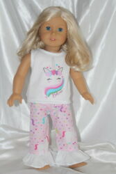 Dress Outfit fits 18 inch American Girl Doll Clothes Unicorn Hearts Lot B $10.75