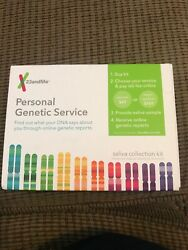 23andme Personal Genetic Service DNA Saliva Kit For Ancestry & Health Kit Only