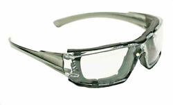 Delta Plus Go Specs IV Safety Glasses Goggles Clear A F Dark Gray Temples Z87.1 $7.84