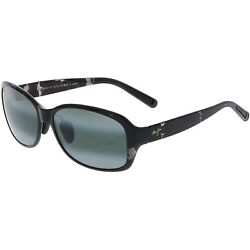 Maui Jim Women#x27;s Polarized Koki Beach H433 15T Black Oval Sunglasses