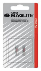 Maglite LM2A001 PACK 2 Replacement Lamp BULBS For AA Mini Flashlight 1207430 $2.79