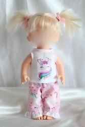 Dress Outfit fits 12 inch Baby Alive Doll Clothes Lot Unicorn Hearts $10.75