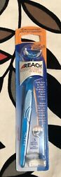 New Reach Access Flosser Purple 3 Disposable Heads Sealed Discontinued  Blue $14.00