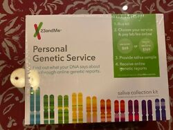 23andme Saliva Collection Kit Personal Genetic Service DNA Lab Fee Not Included