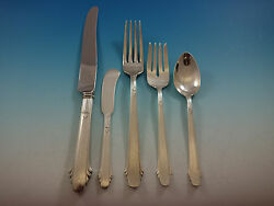 Hunt Club by Durgin Sterling Silver Flatware Set 8 Service 44 Pcs Dinner Size $2,650.00