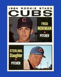 1964 Topps Set Break #469 - Cubs Rookies NM-MT OR BETTER *GMCARDS*