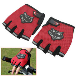 Men#x27;s Women Fitness Exercise Workout Weight Lifting Sport Gloves Gym Train $4.99
