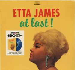 James- Etta- At Last! (Limited Edition Blue Colored Vinyl) $9.99