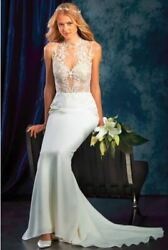 AMAZING  - Alfred Angelo SAPHIRE Collection  Wedding Dress Size 10