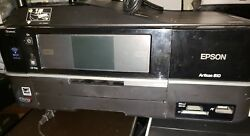 Epson Artisan 810 Wireless All-in-One Color Inkjet Printer Copier Scanner Fax $75.00