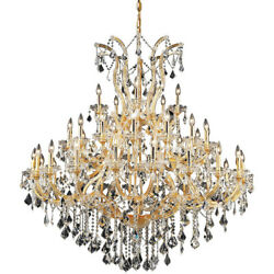 2800 Maria Theresa Collection Chandelier D:52in H:54in Lt:41 Gold Finish (Spe...