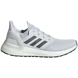 Adidas Men#x27;s Ultra Boost 20 Shoes NEW IN BOX FREE SHIPPING Grey EG0694 $109.99