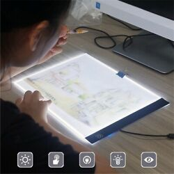 A4 LED Lighting Board Tracing Pad Drawing Tablet USB Charge Artist Pad Light Box