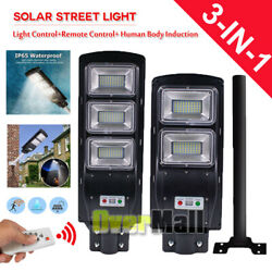 250W Commercial LED Solar Road Street Light Flood Shoebox Industrial Lamp 7000K
