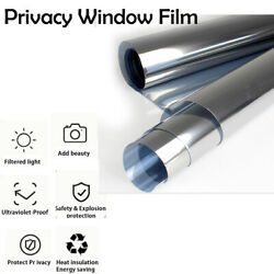 Window Film Tinted No Adhesive Protecting Privacy Home  Office  Commercial $105.26