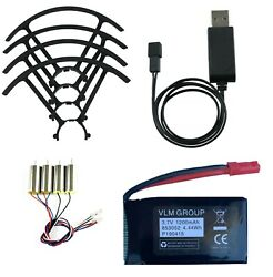 Battery Propeller Guards Motors and Battery Charger Set for Sky Viper Drones $31.00