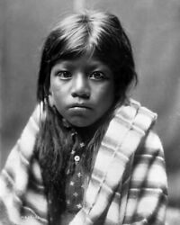 New Native American Photo: Ah Chee Lo North American Indian Child - 6 Sizes! $2.99
