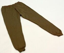 LOT OF 3 US MILITARY MEN#x27;S EXTREME COLD WEATHER THERMAL UNDERWEAR DRAWERS SMALL $17.95