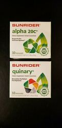 Sunrider Quinary 10 or Alpha 20C 10 count or a mix of both $38.00