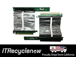 Lot of 2x 4quot; x16 PCIe 3.0 Flex Riser GPU Coin miner extender USA High Quality lo $29.95