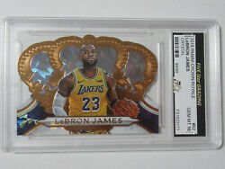 2018 Panini Crown Royale LeBron James Crystal ##x27;d 88 99 Gem Mint 10 Lakers #62 $1999.99