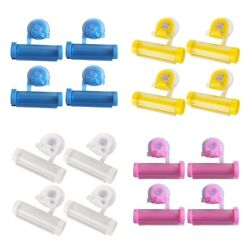 4x PP Mini Bathroom Toothpaste squeezer Toothpaste squeezing Tools Gifts $7.83