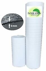 SmartSHIELD -3W WHITE Reflective Insulation roll Foam Core Radiant Barrier 3MM  $28.99
