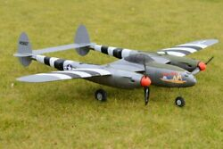 P 38 Lightning 55quot; 3D Printed RC Plane 3dLabPrint Radio Controlled Airplane Kit  $75.00
