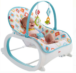 Newborn Infant to Toddler Bouncer Chair For Baby Seating Vibrating Rocker Swing $55.01