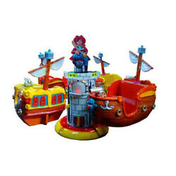 Pirate ship merry go round Kids Fun Fair Arcade Home Garden Playground Leisure