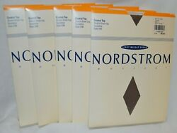 5 pair NORDSTROM Size C Taupe C Top Pantyhose Light Weight Sheer up to 200lb KK1 $21.19